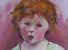 Carrot-top by Sandra Gorman, artist, a Prince Global website client